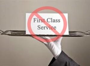 Not First Class