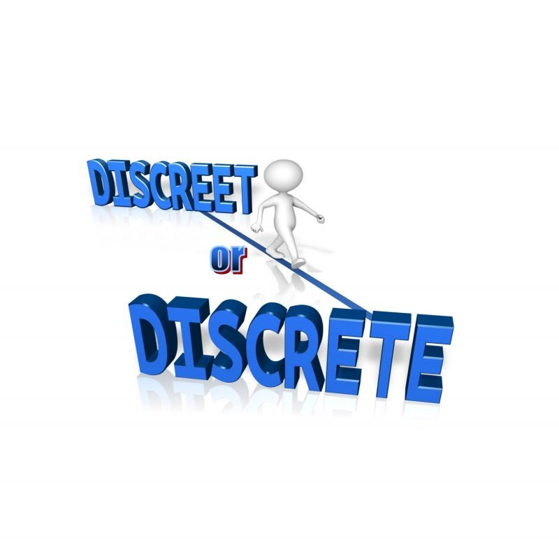 Be discreet login