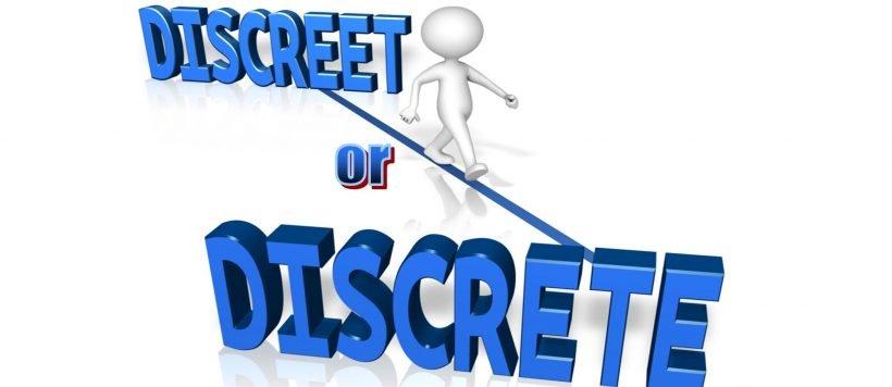 Discreet Or Discrete?