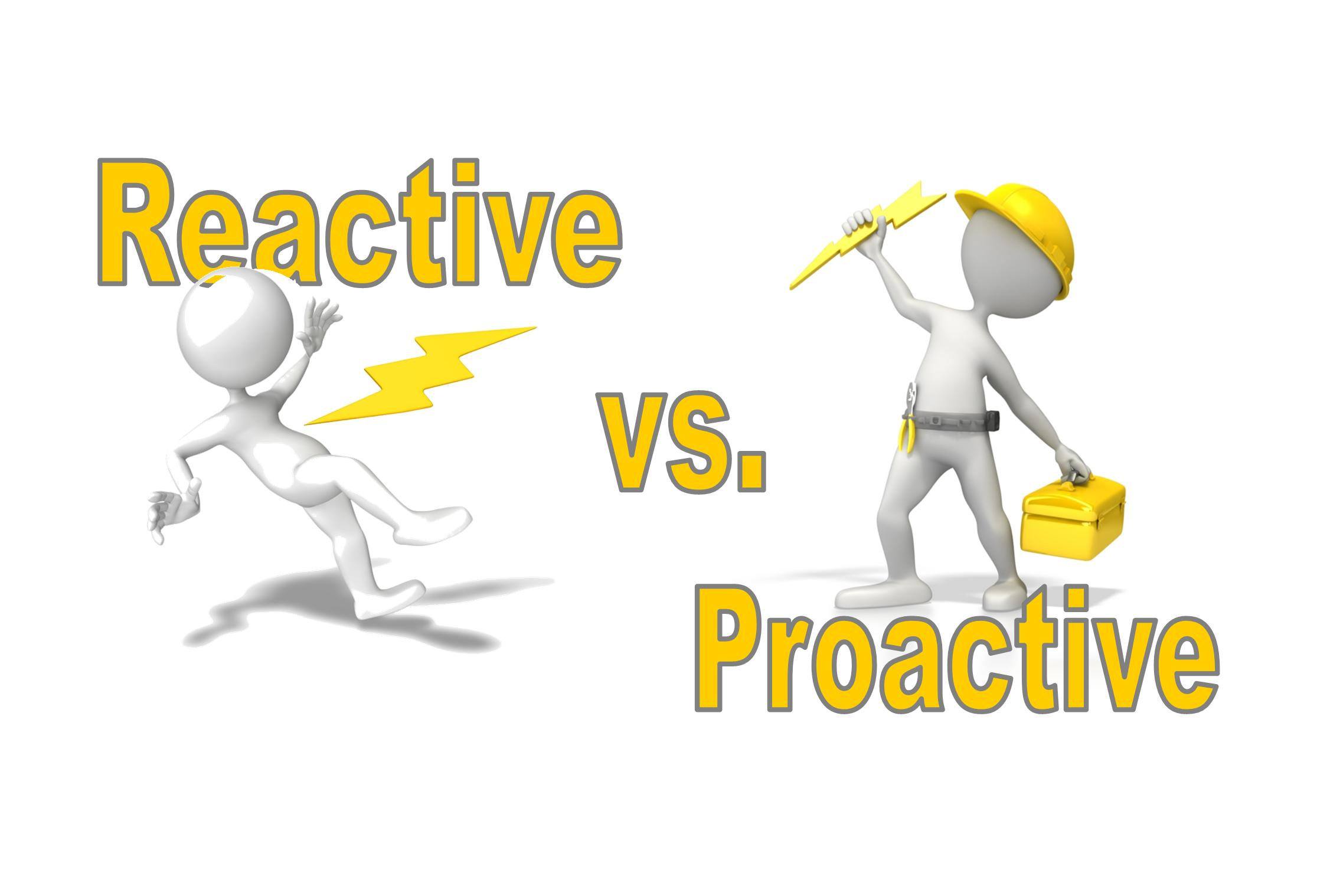 reactive vs proactive When snow blocks a high-efficiency furnace's the intake then the hvac installer  is likely to get a phone call how to be proactive read the.