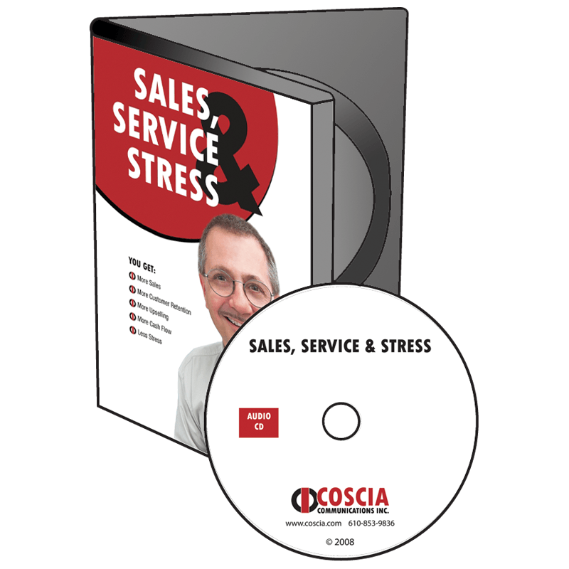 Stress Test Double Product: Sales, Service, Stress CD - Steve Coscia