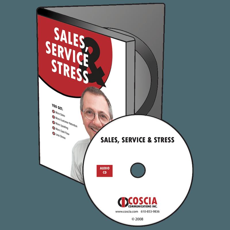 Sales, Service, Stress CD