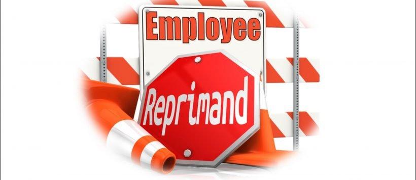 Employee-Reprimand