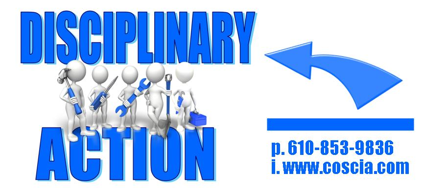 disciplinary action - employee conflict