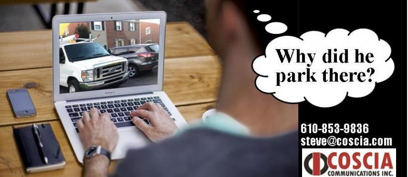 Customer Experience – Where To Park The Van?
