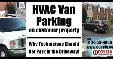 HVAC Van Parking – Customer Experience