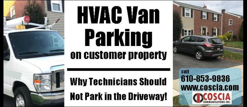 HVAC Van Parking – Customer Experience