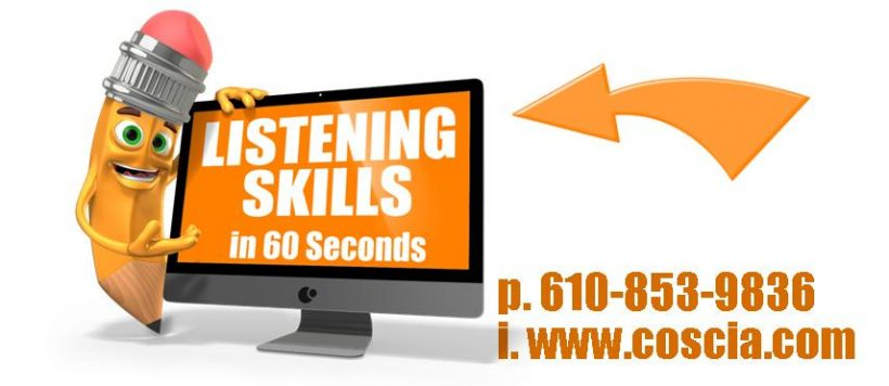 Listening Skills In 60 Seconds