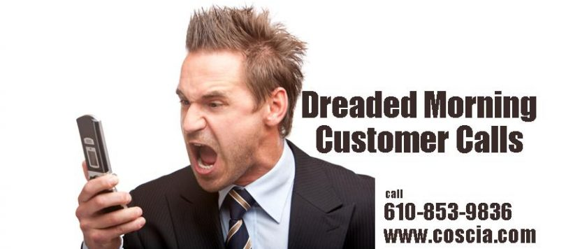 Dreaded Morning Customers