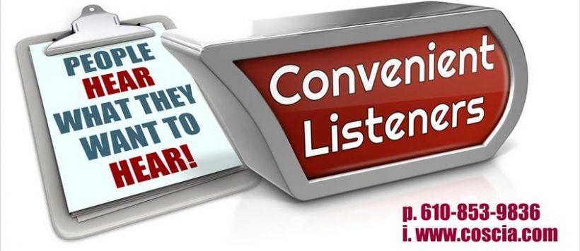 Convenient Listeners