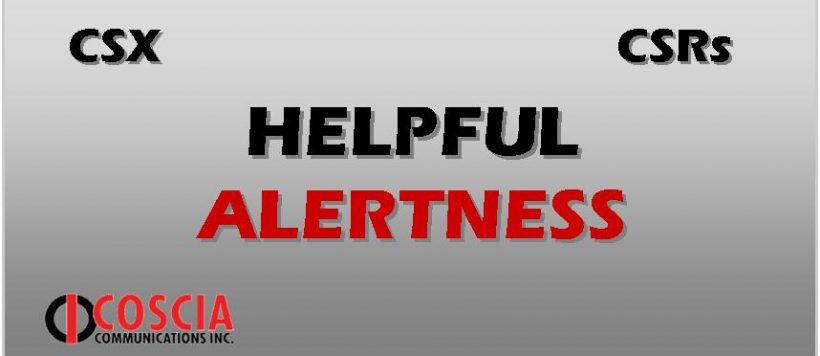 Helpful Alertness