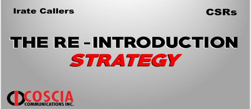 The Re-Introduction Strategy